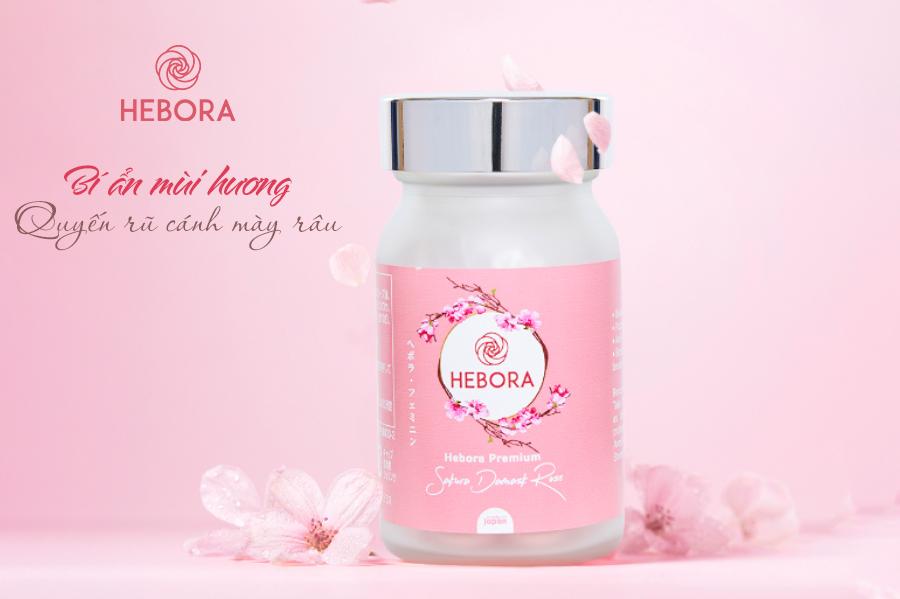 Viên uống Hebora Premium - bí ẩn mùi hương