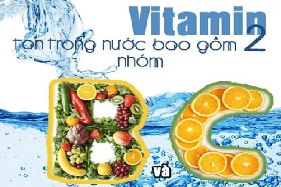 Vitamin C dễ tan trong nước
