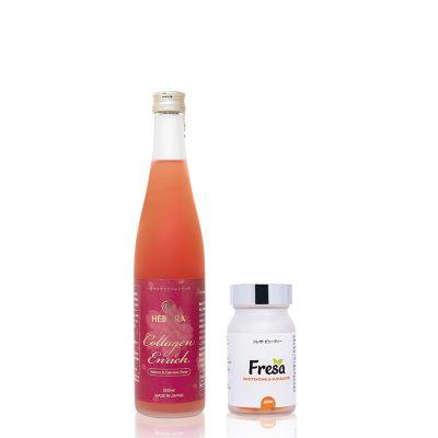 Combo Hebora Collagen và Fresa Whitening &Sunblock