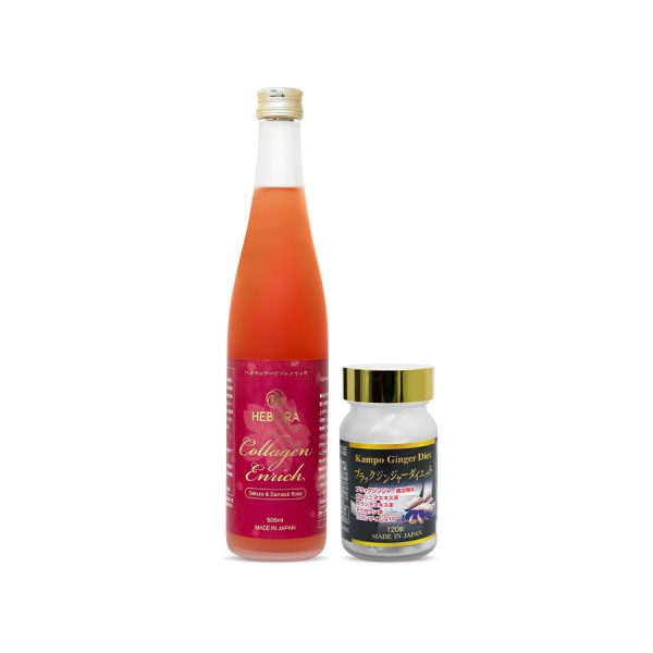 Combo Hebora Collagen và Kampo Ginger Diet