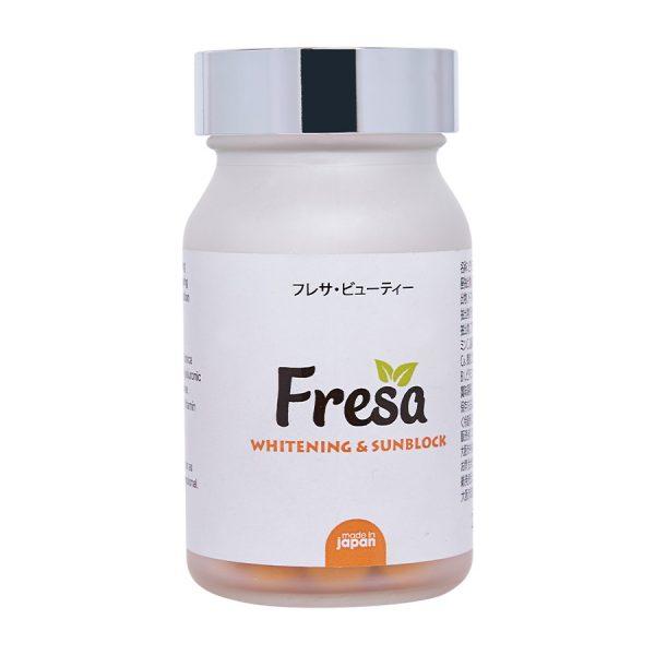 Viên uống trắng da chống nắng Fresa Whitening Sunblock