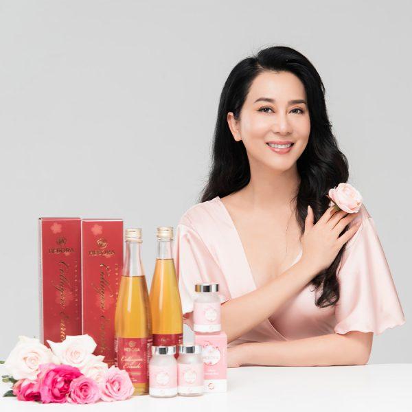 Bộ đôi sản phẩm Hebora Premium & Hebora Collagen Enrich