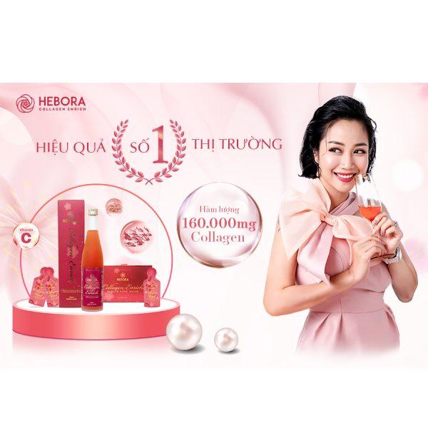 Hebora Collagen Enrich Damask Rose Water Chai