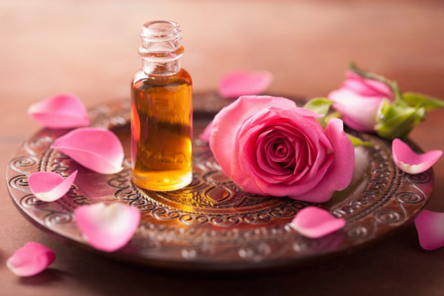 Tinh dầu hoa hồng Damask