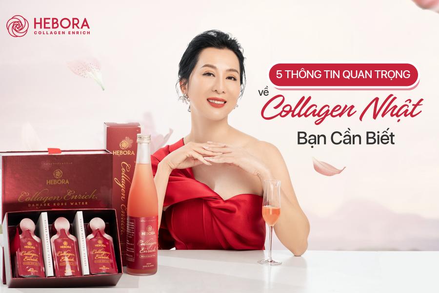 5 thông tin quan trọng về Collagen Nhật