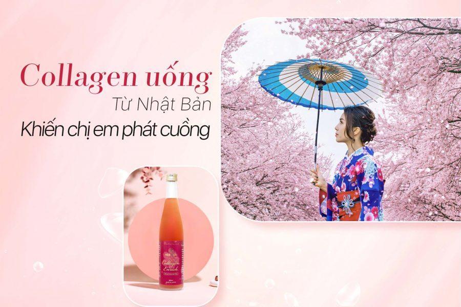 Tại sao hàng triệu phụ nữ phát cuồng về dạng Collagen uống của Nhật Bản này?