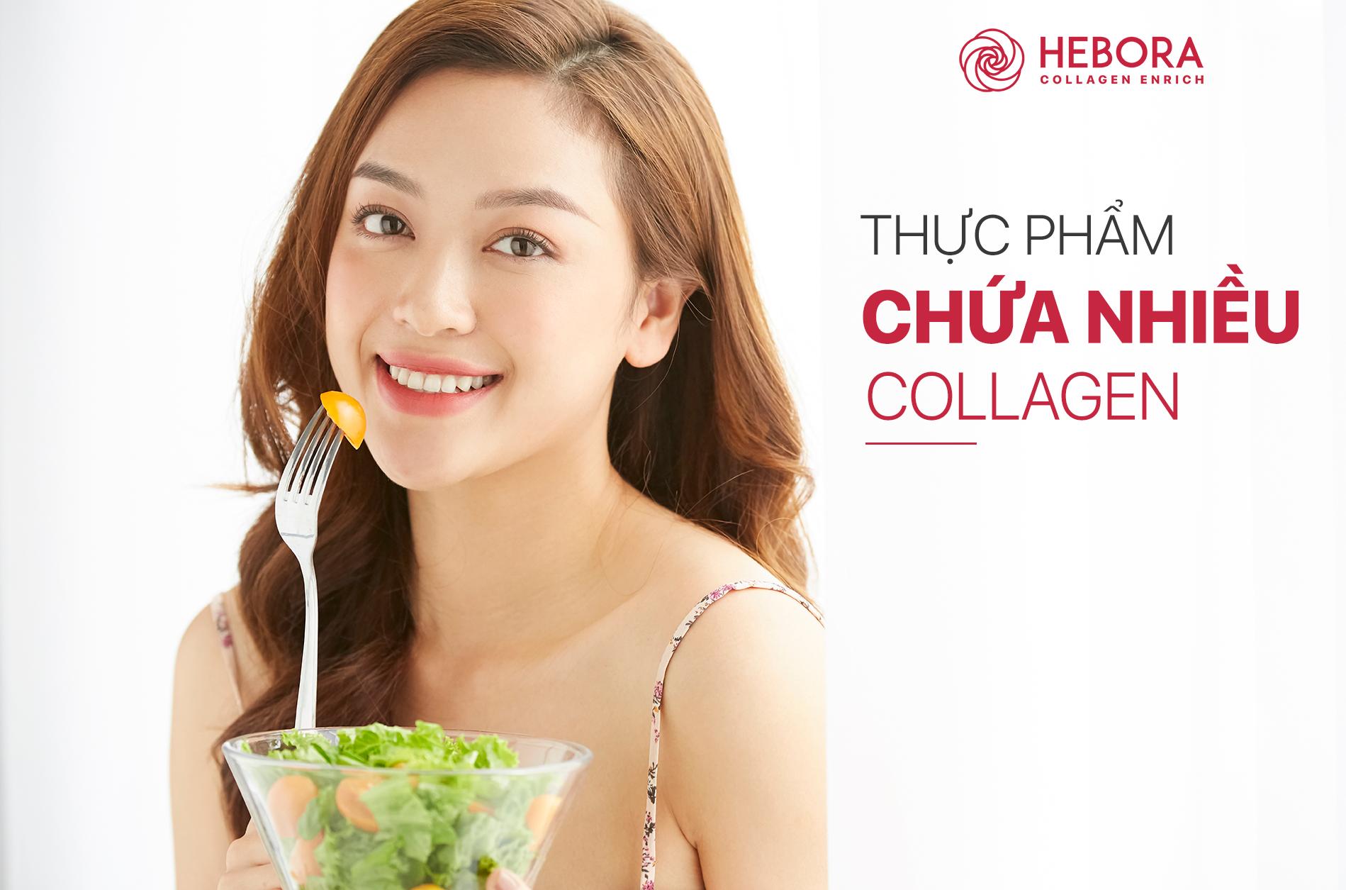 Những thực phẩm chứa nhiều Collagen và sự thật bạn nên biết