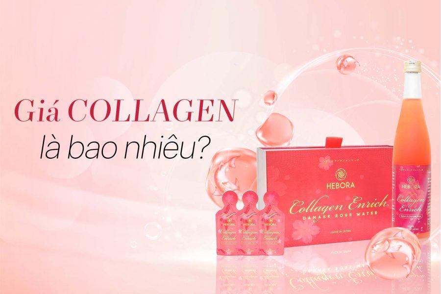Giá Collagen là bao nhiêu?