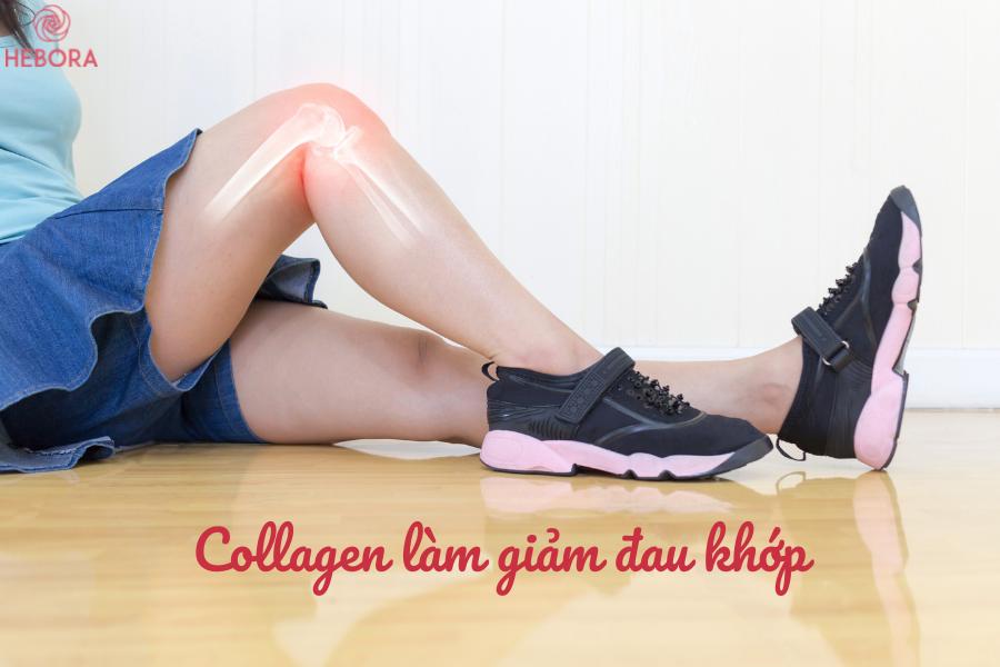Collagen có công dụng giảm đau khớp