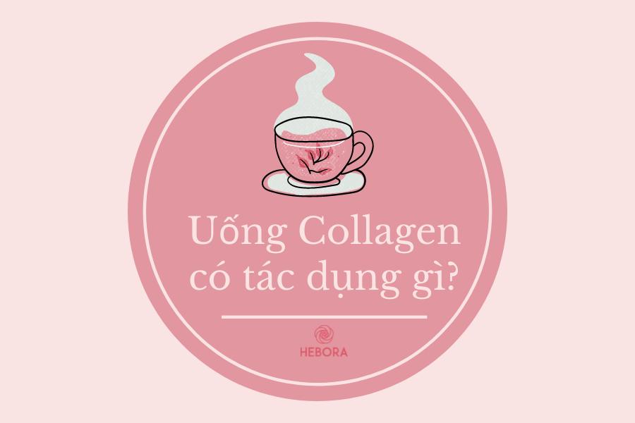 Uống Collagen có tác dụng gì?